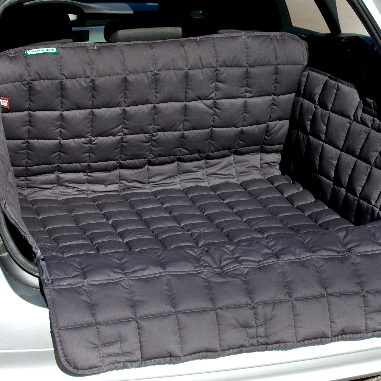 Doctor Bark - Kofferraum Hunde Autoschondecke All-Side - grau
