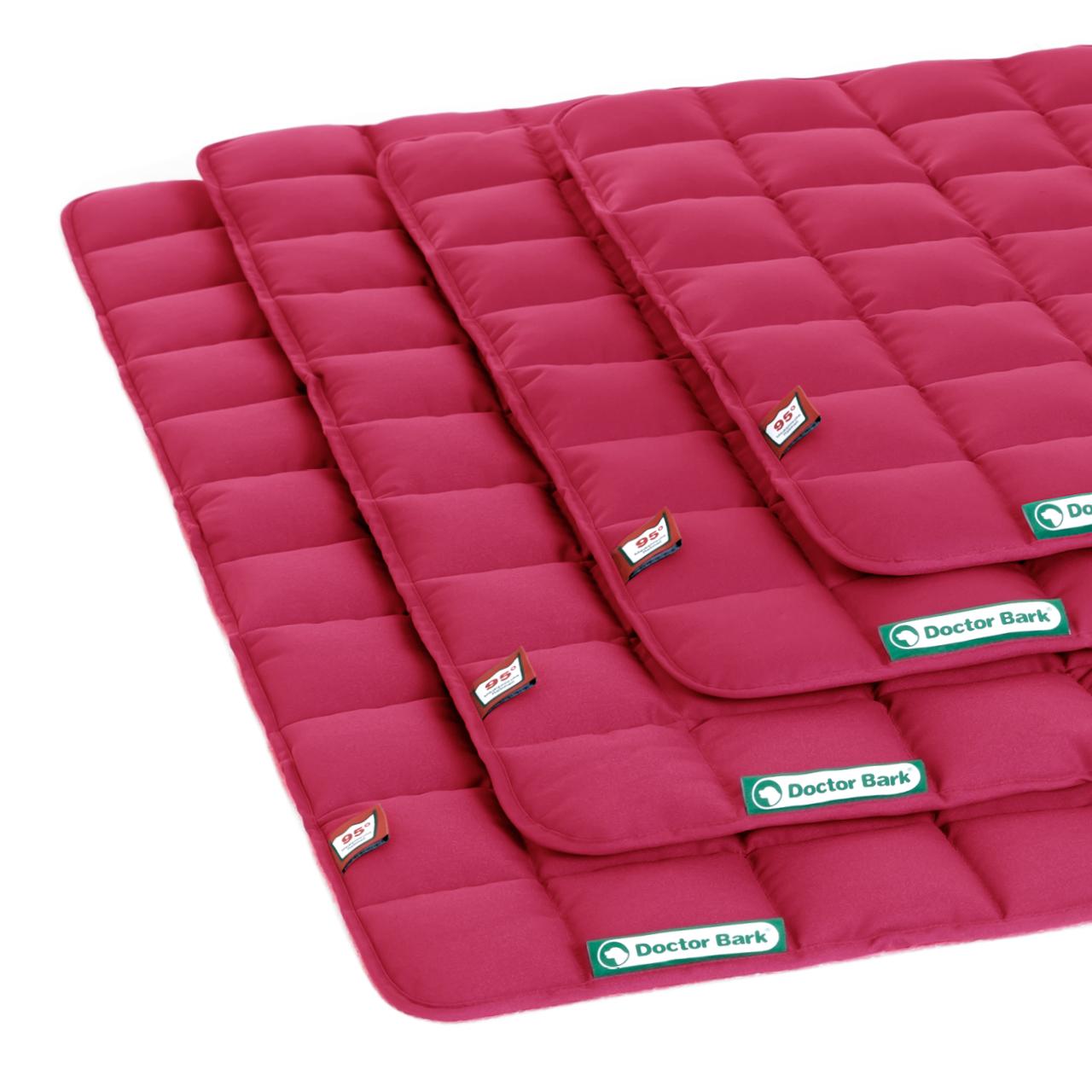 Steppdecke hot pink
