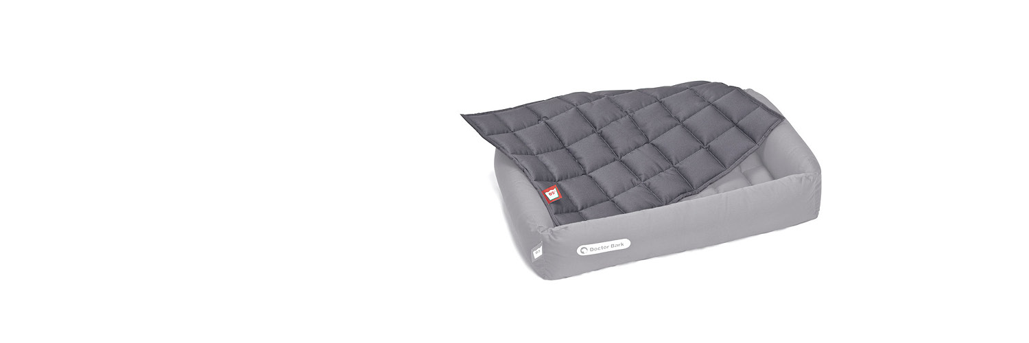 Doctor Bark - Einlegedecke für Hundebetten - waschbar bei 95°C