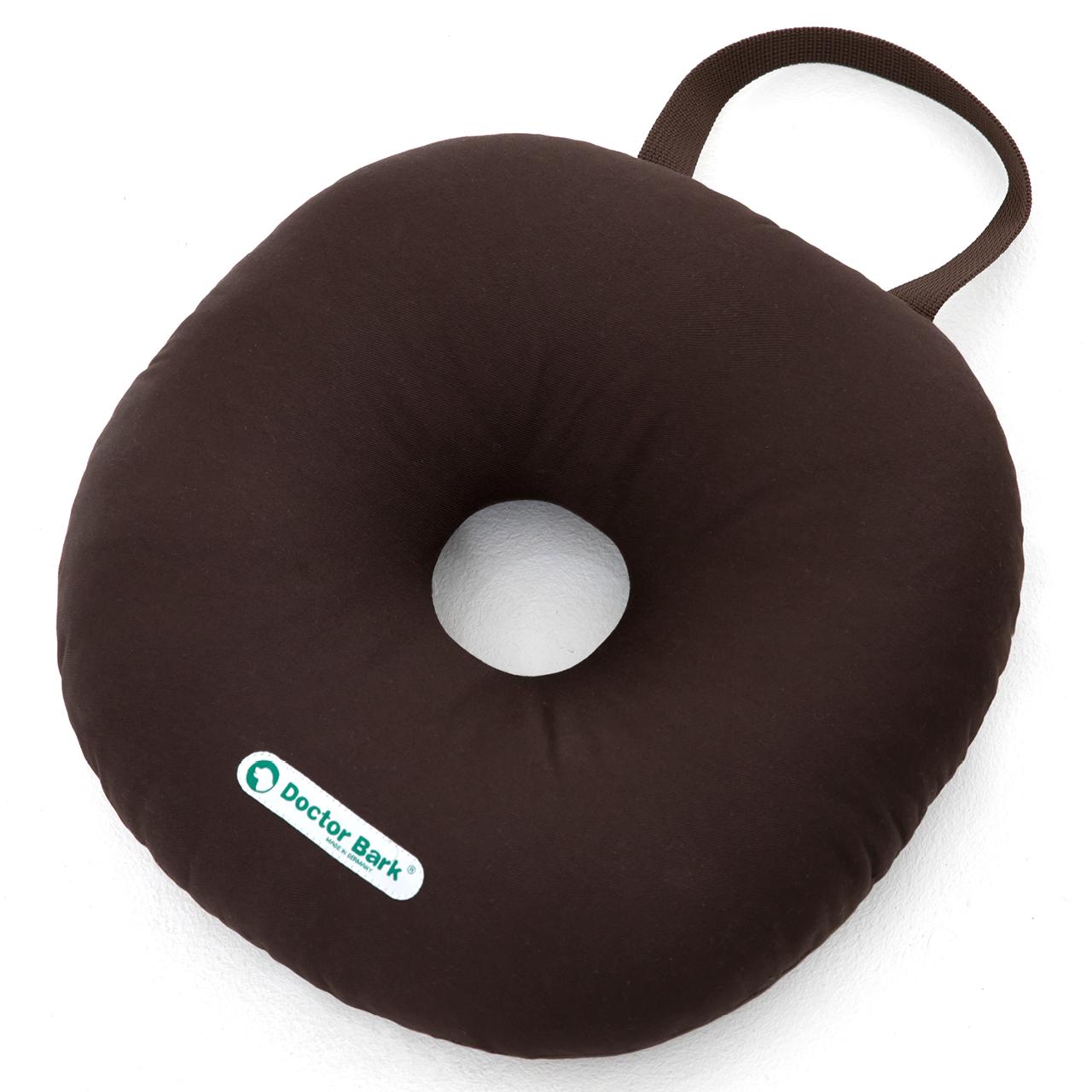 Toy Donut - round S braun