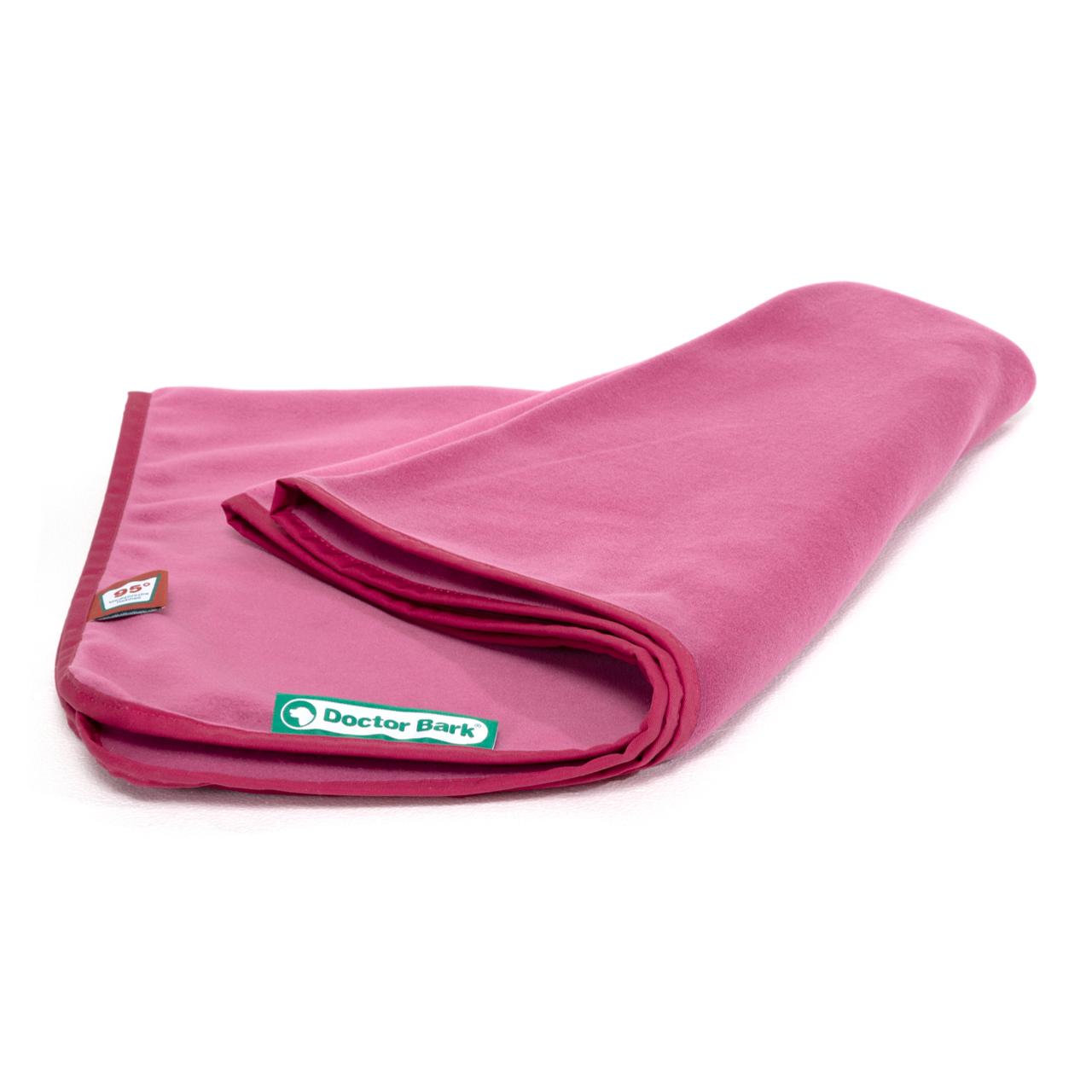 Fleece Kuscheldecke hot pink
