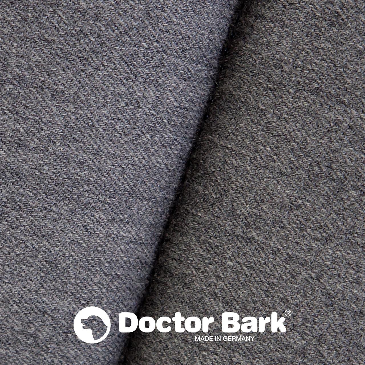 gepolsterte Einlegedecke für Doctor Bark Hundebett Gr. M - grau