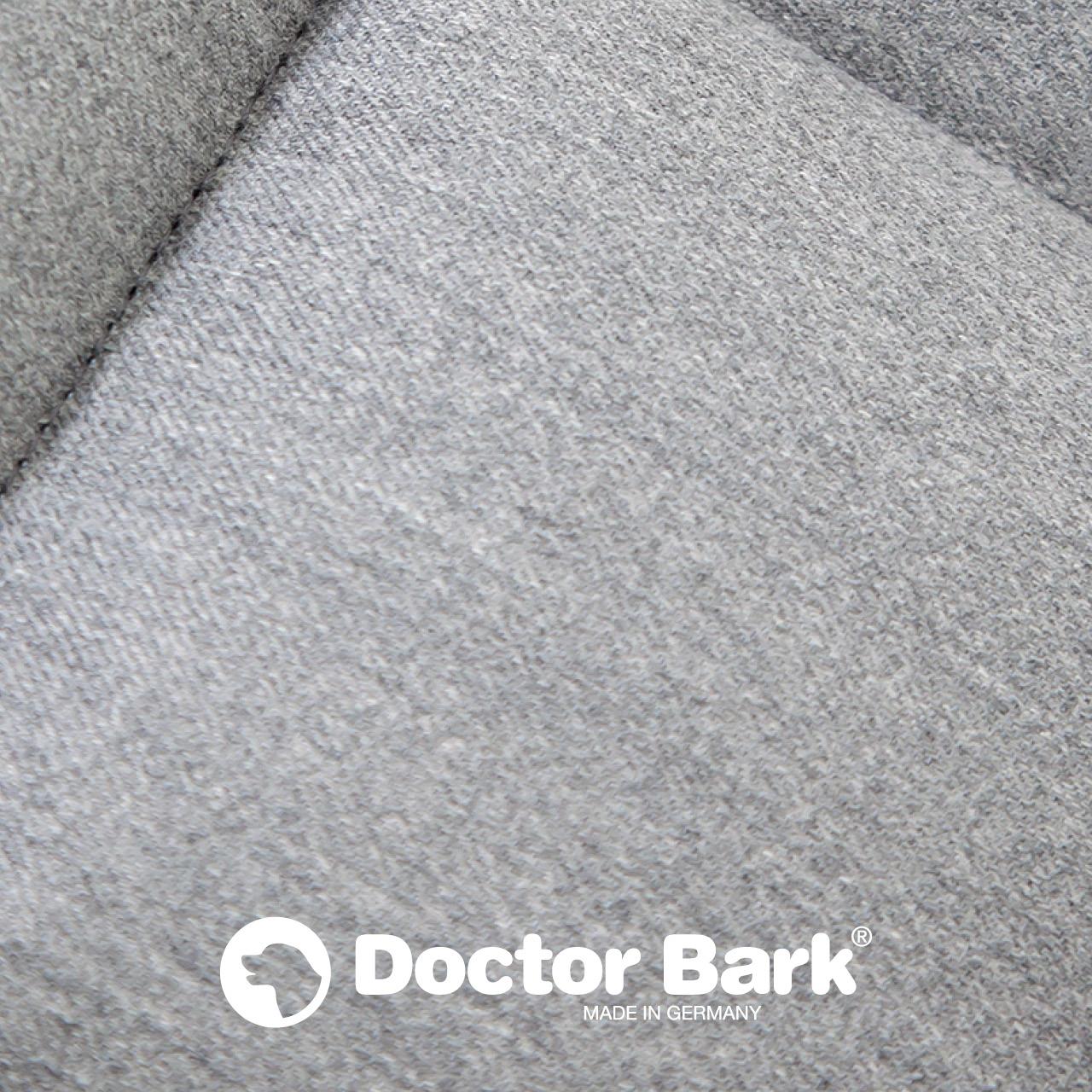 gepolsterte Einlegedecke für Doctor Bark Hundebett Gr. XL - hellgrau