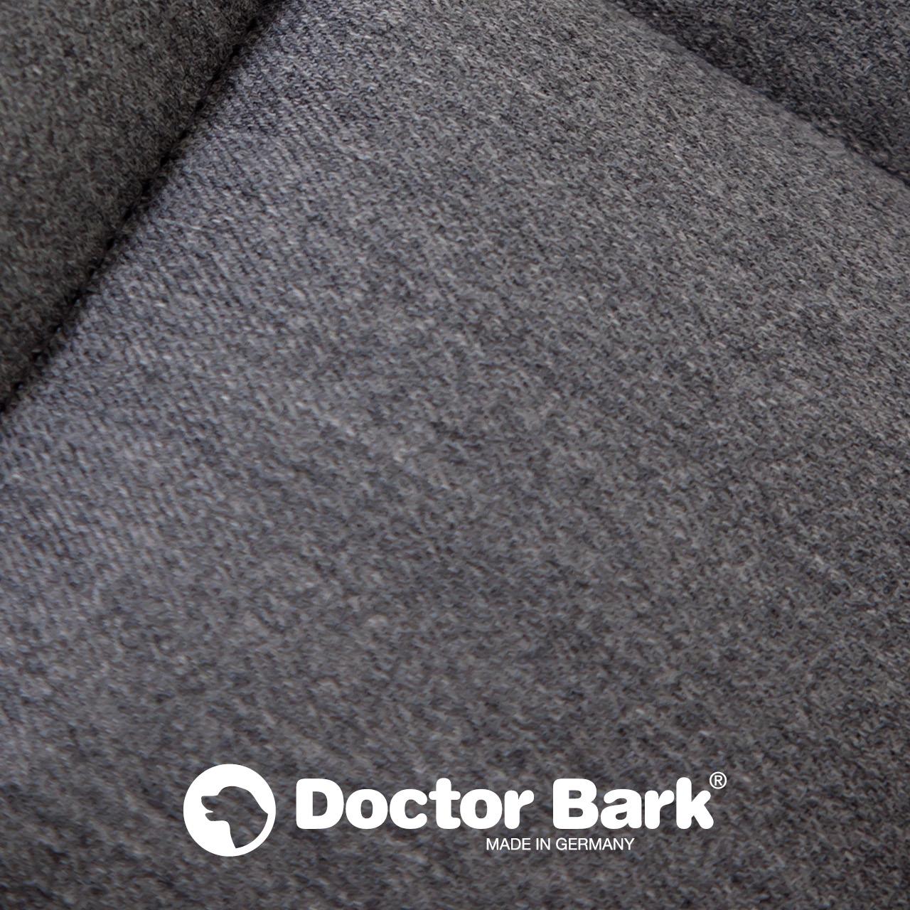 Doctor Bark - Hunde Autoschondecke - Beifahrersitz - grau