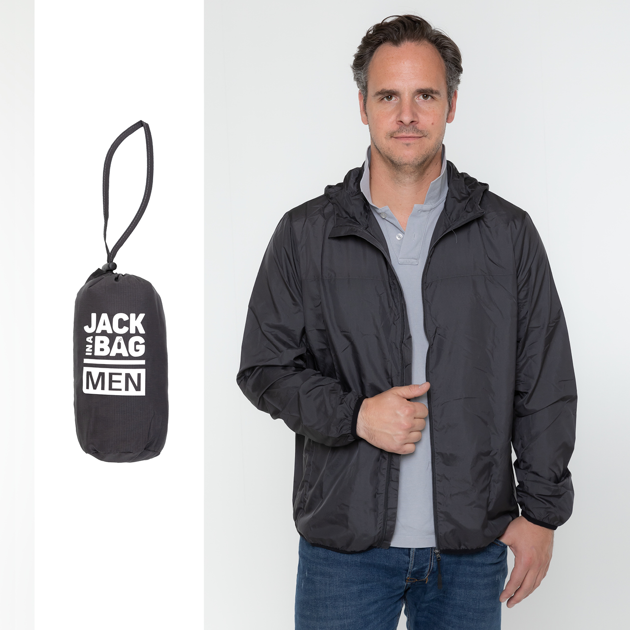 All Season Herren-Jacken in schwarz