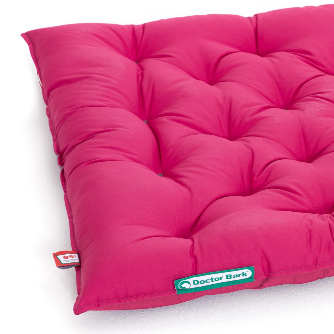 orthopädisches Country-Kissen  hot pink XL