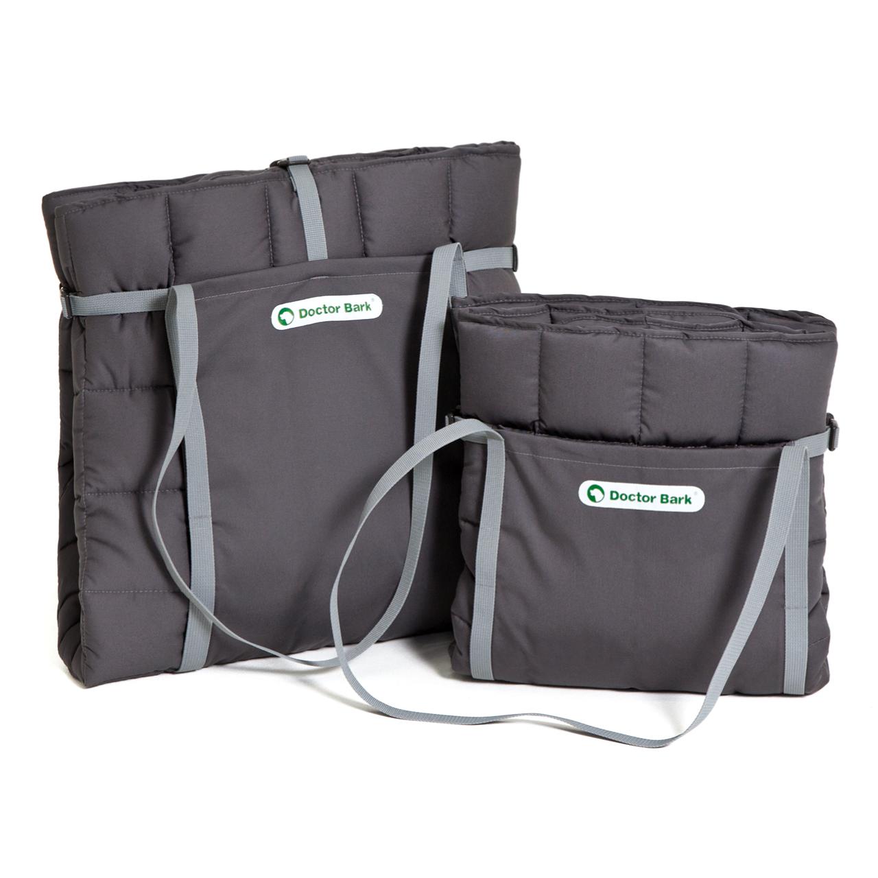 Reisedecke / Travel-Bag grau