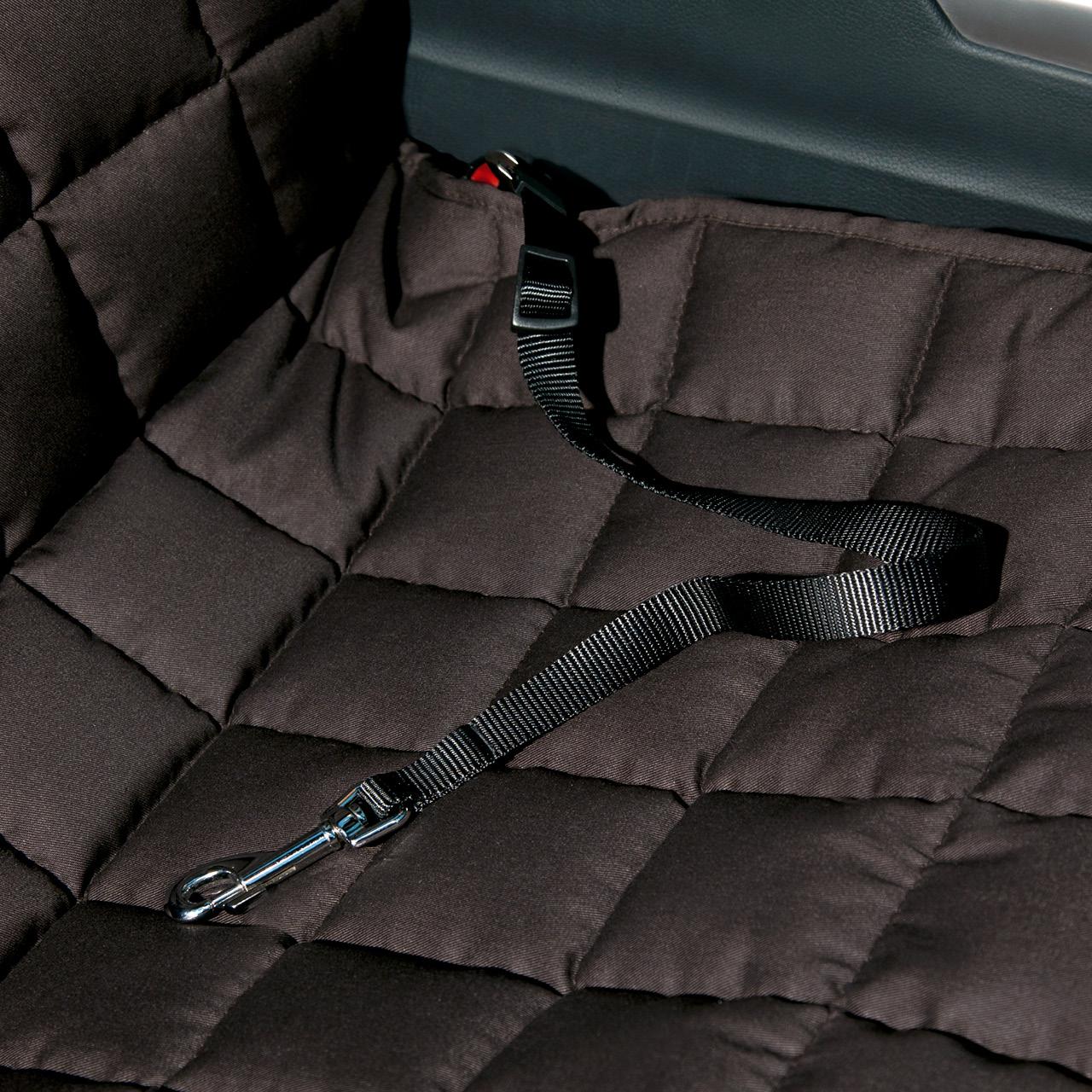 Doctor Bark - Hunde Autoschondecke - Beifahrersitz - braun