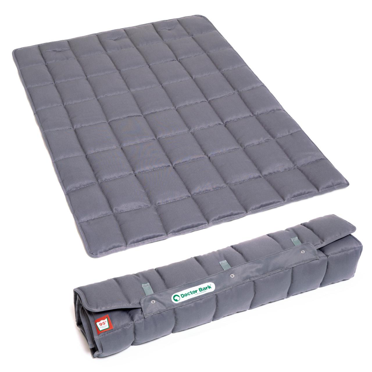 Hundedecke Portable grau one-size