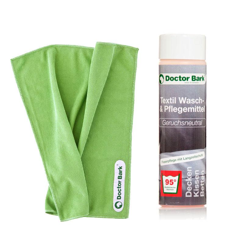 SET Waschmittel + Mikrofasertuch