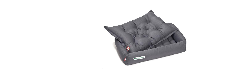 Doctor Bark - Hundebett-Set mit orthopädischem Einlegekissen- waschbar bei 95°C
