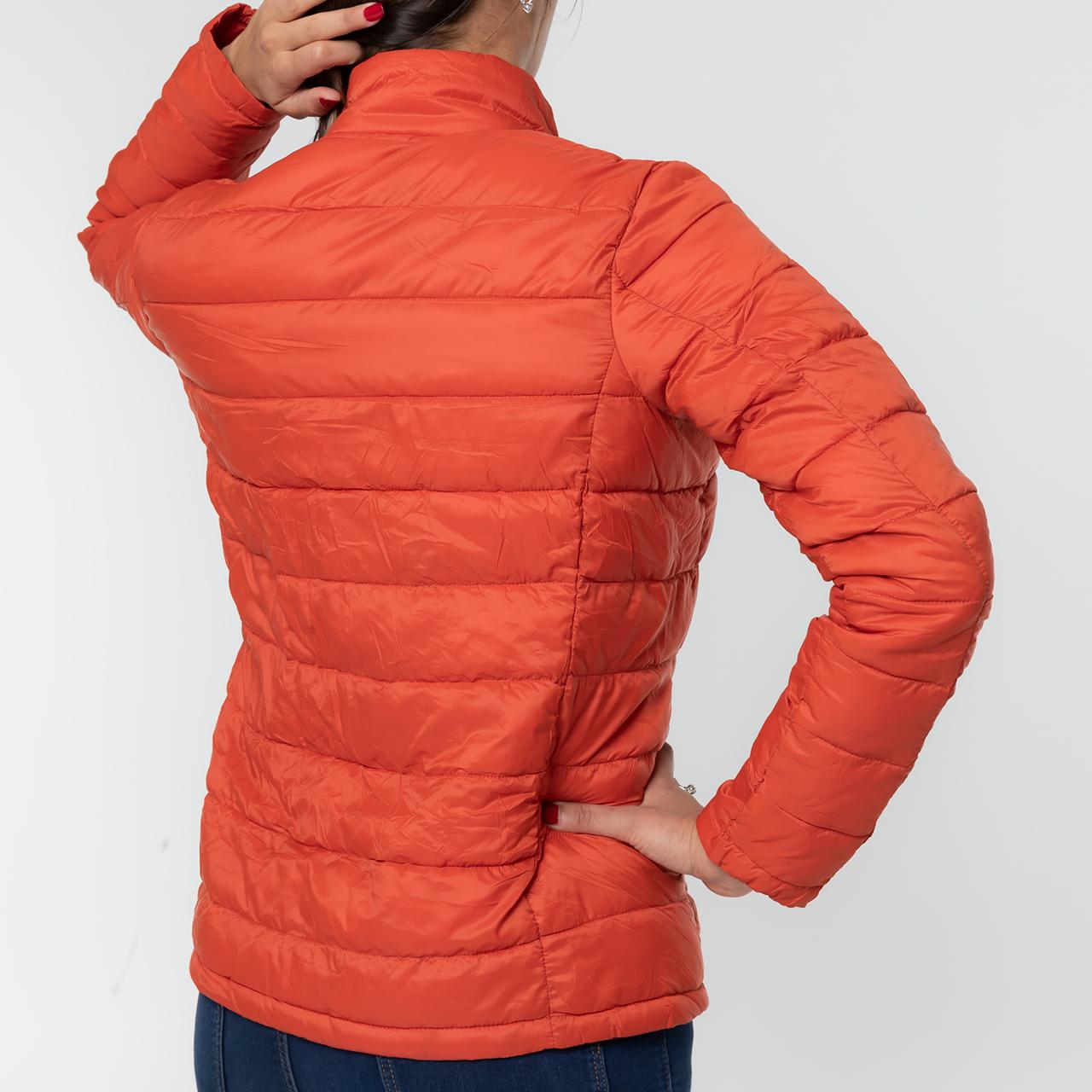 Steppjacke für Damen in orange