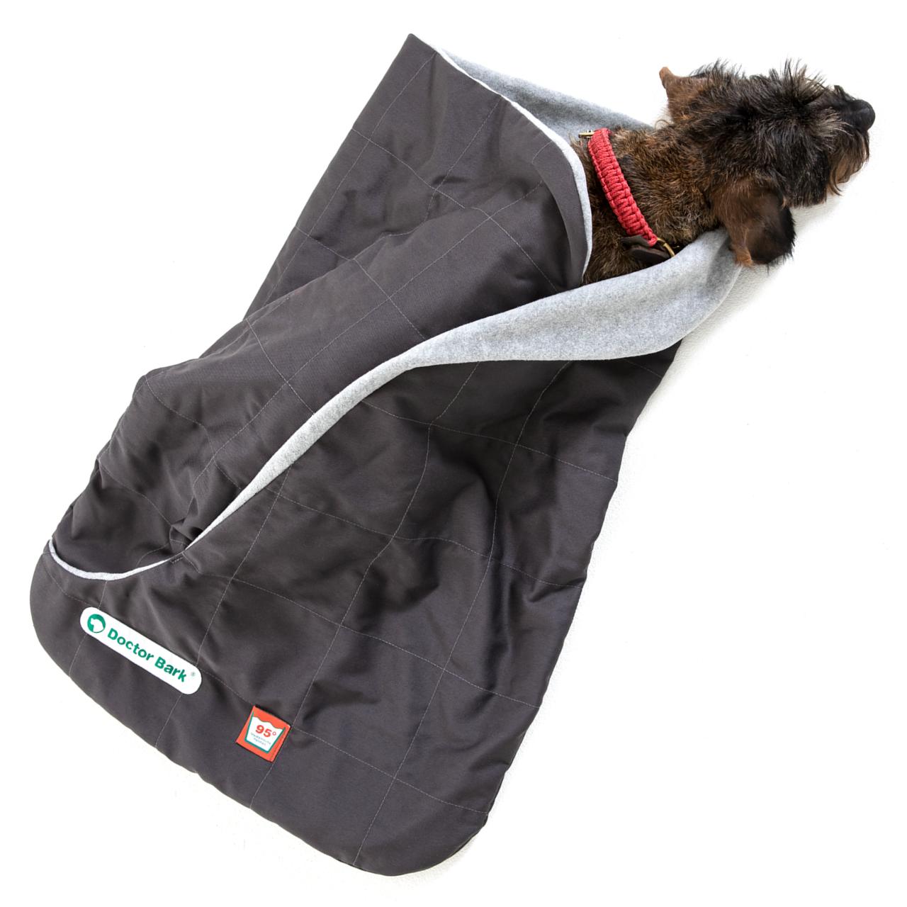 Schlafsack grau L