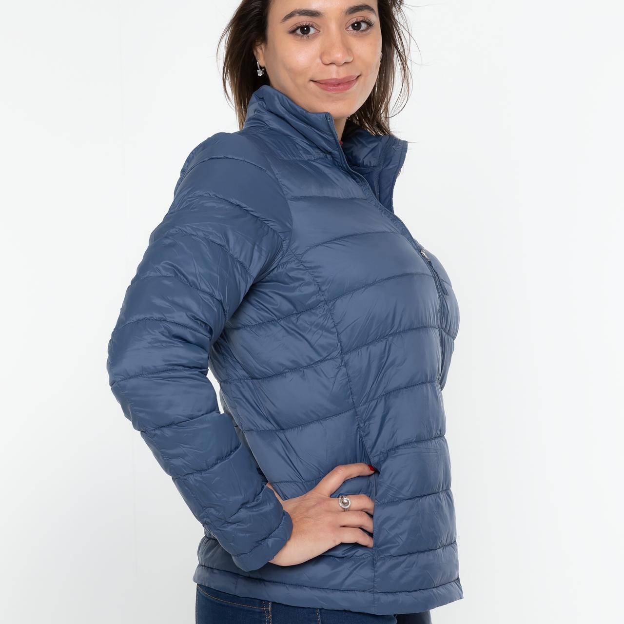 Damen Steppjacke in blau L/XL