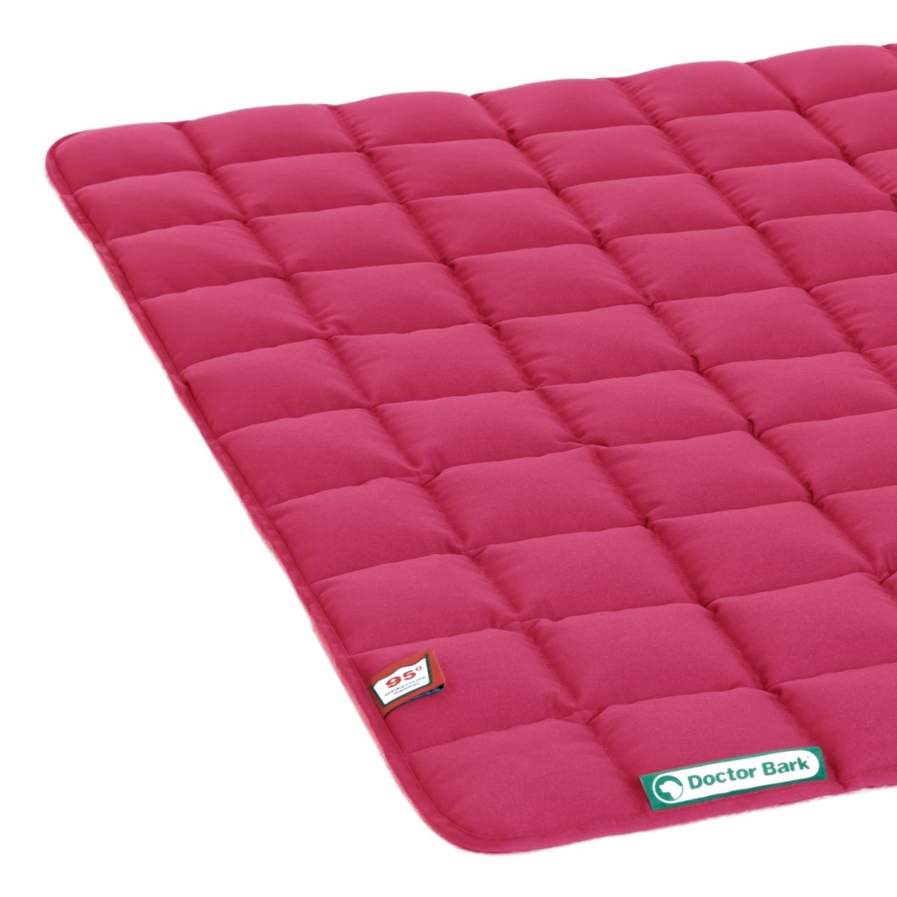 Steppdecke hot pink XL
