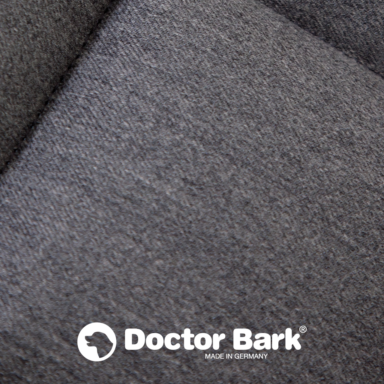 Doctor Bark - Autoschondecke für Hunde - Rückbank 1-Sitz - grau