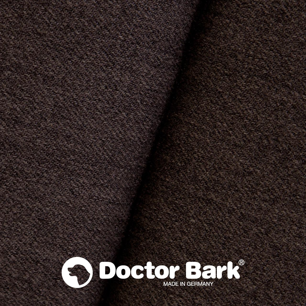 gepolsterte Einlegedecke für Doctor Bark Hundebett - braun