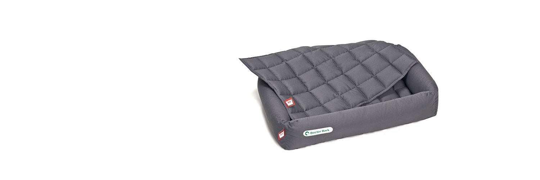 Doctor Bark - Hundebett-Set mit Einlegedecke - waschbar bei 95°C