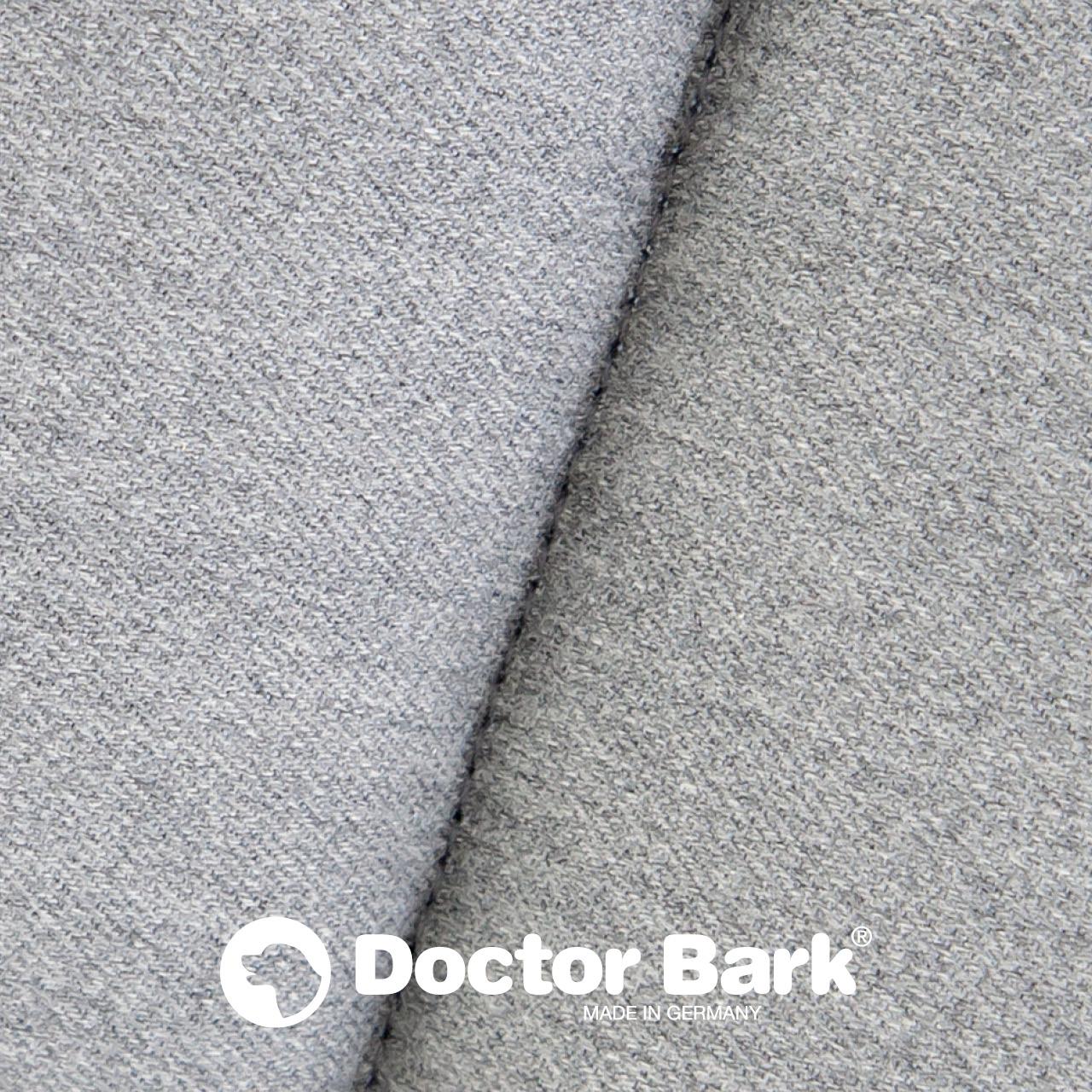 gepolsterte Einlegedecke für Doctor Bark Hundebett Gr. M - hellgrau