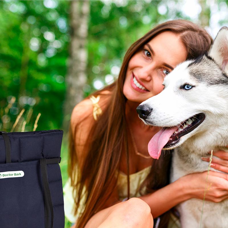 Doctor Bark - Hundedecken / Reisedecken - waschbar bei 95°C