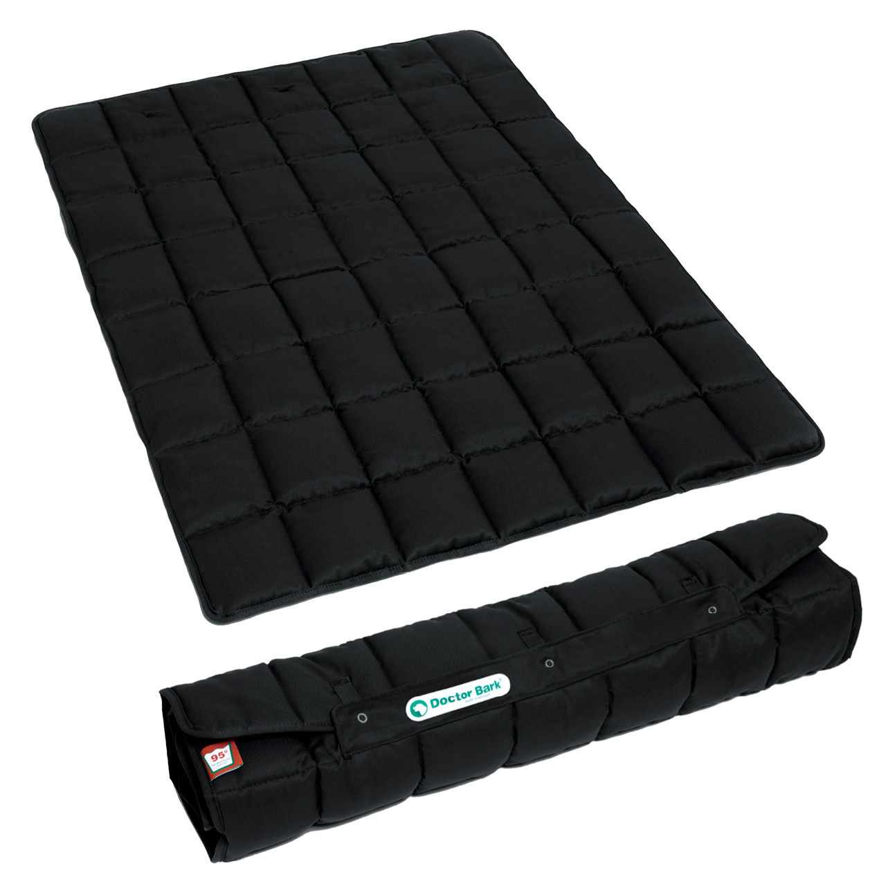 Hundedecke Portable schwarz one-size