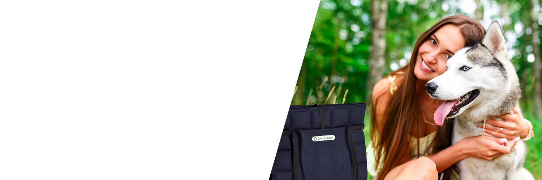 Doctor Bark - Reisedecke Travel-Bag - waschbar bei 95°C