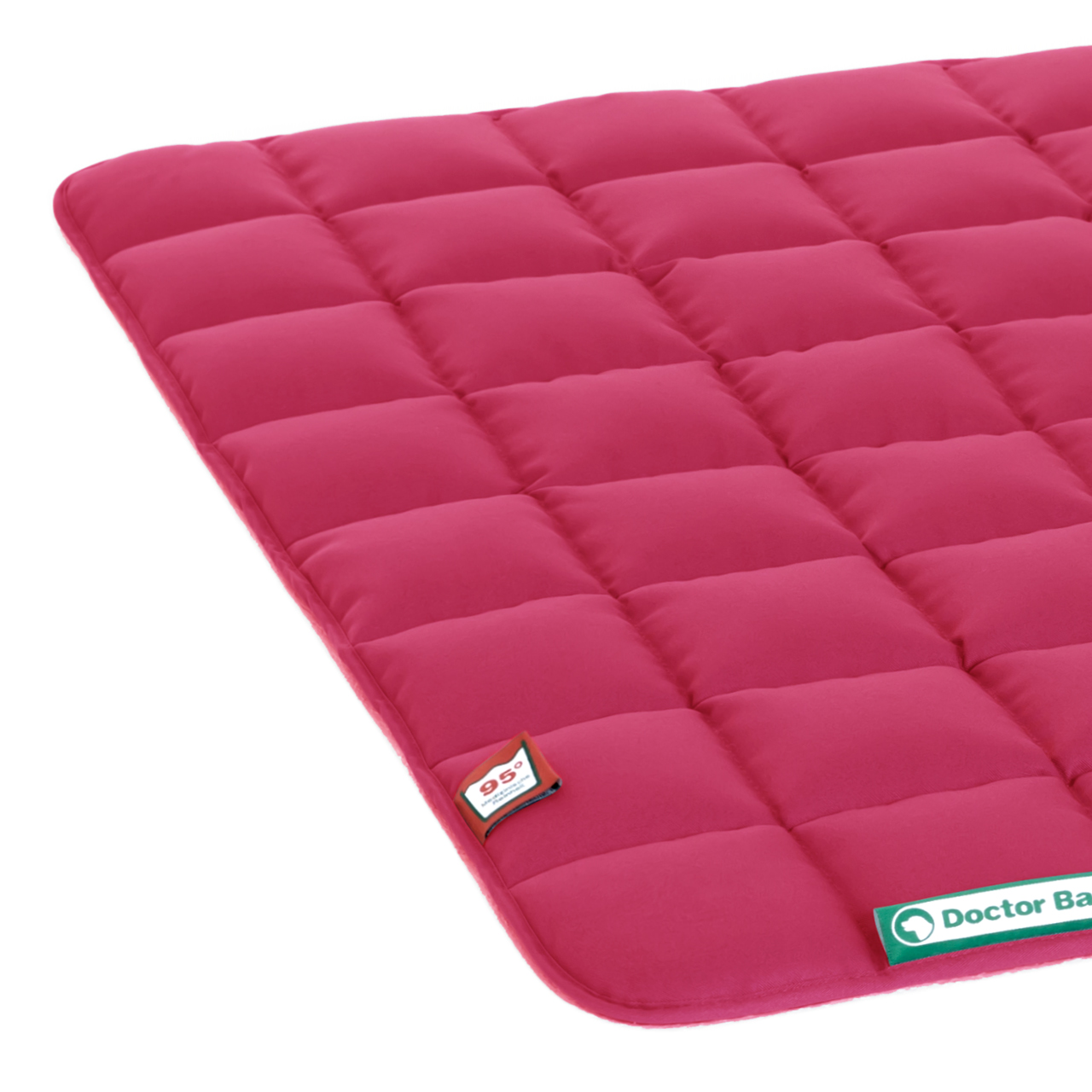 Steppdecke hot pink L