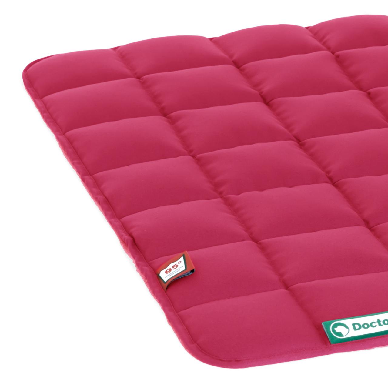 Steppdecke hot pink M