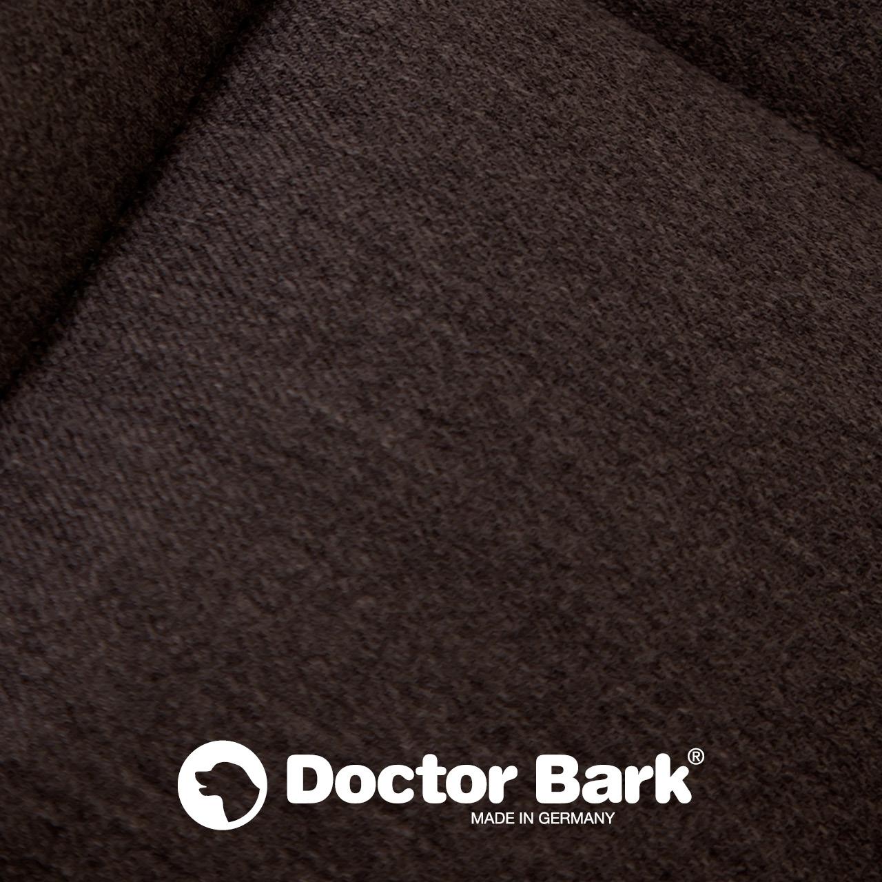Doctor Bark - Autoschondecke für Hunde - Rückbank 2-Sitz - braun