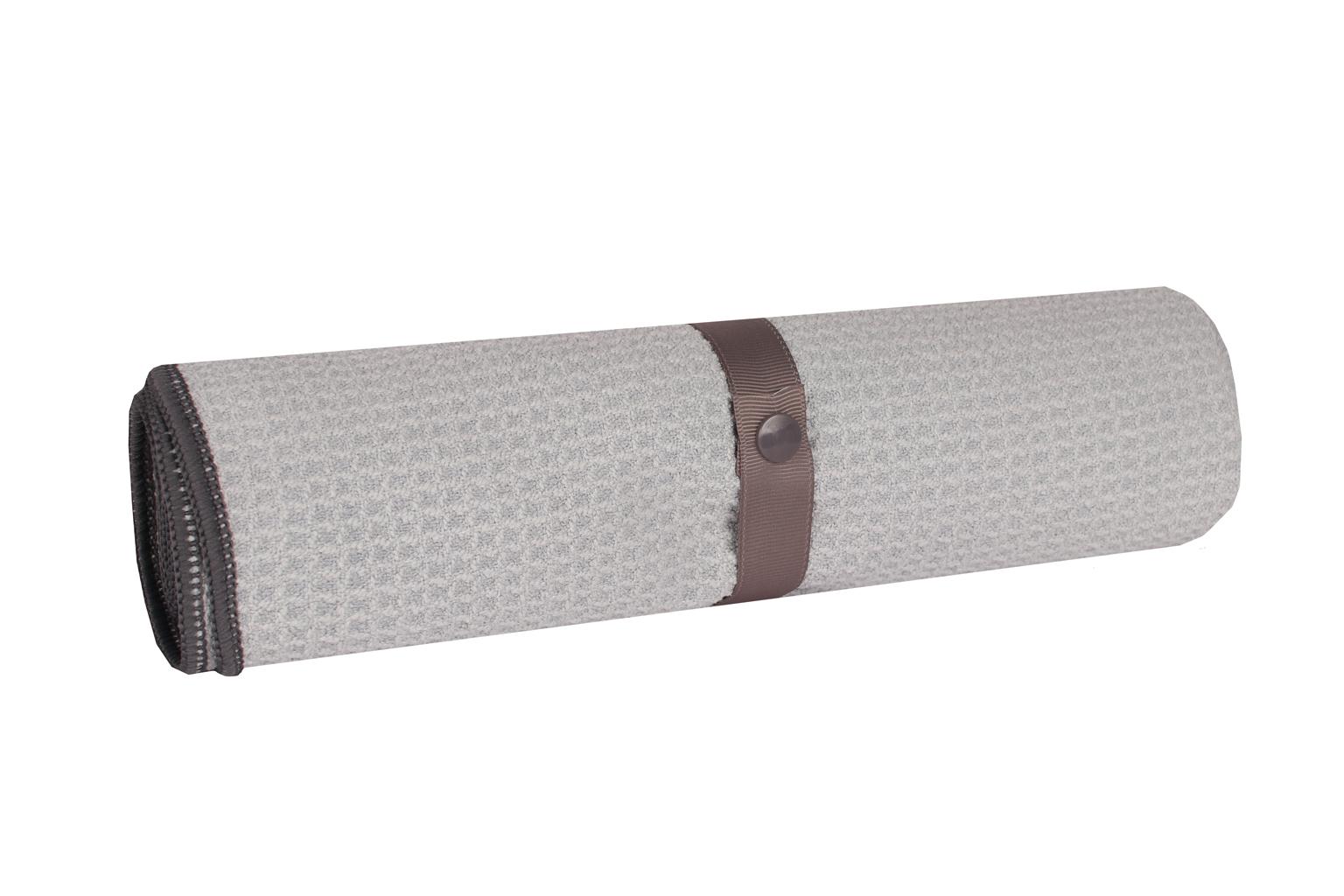Mikrofaser Pfoten- und Felltuch grau - grau