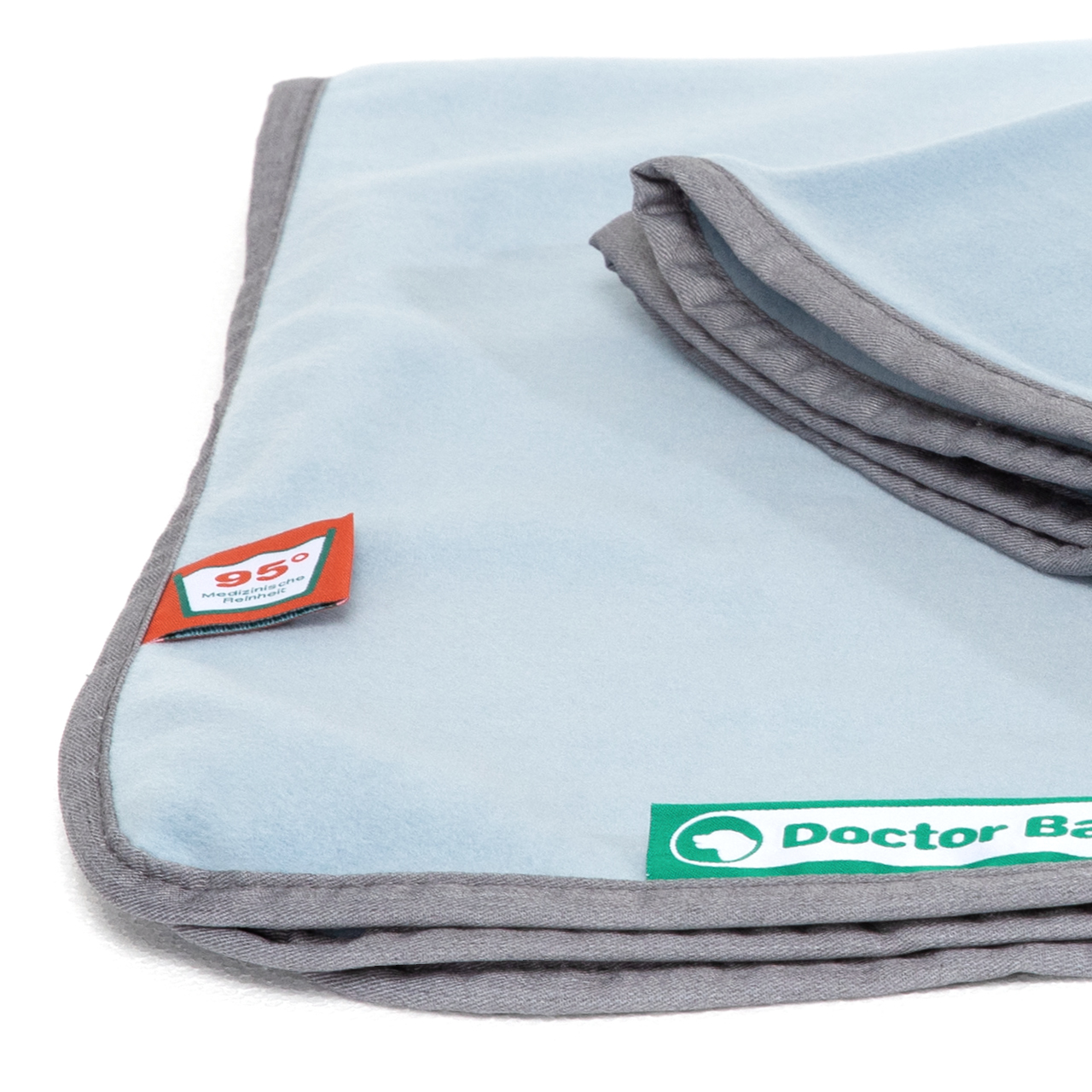 Kuscheldecke Fleece himmelblau XL