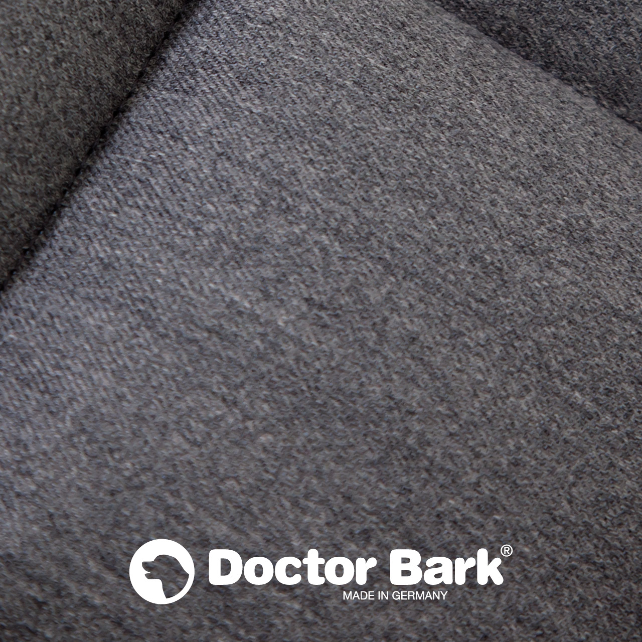 gepolsterte Einlegedecke für Doctor Bark Hundebett - grau