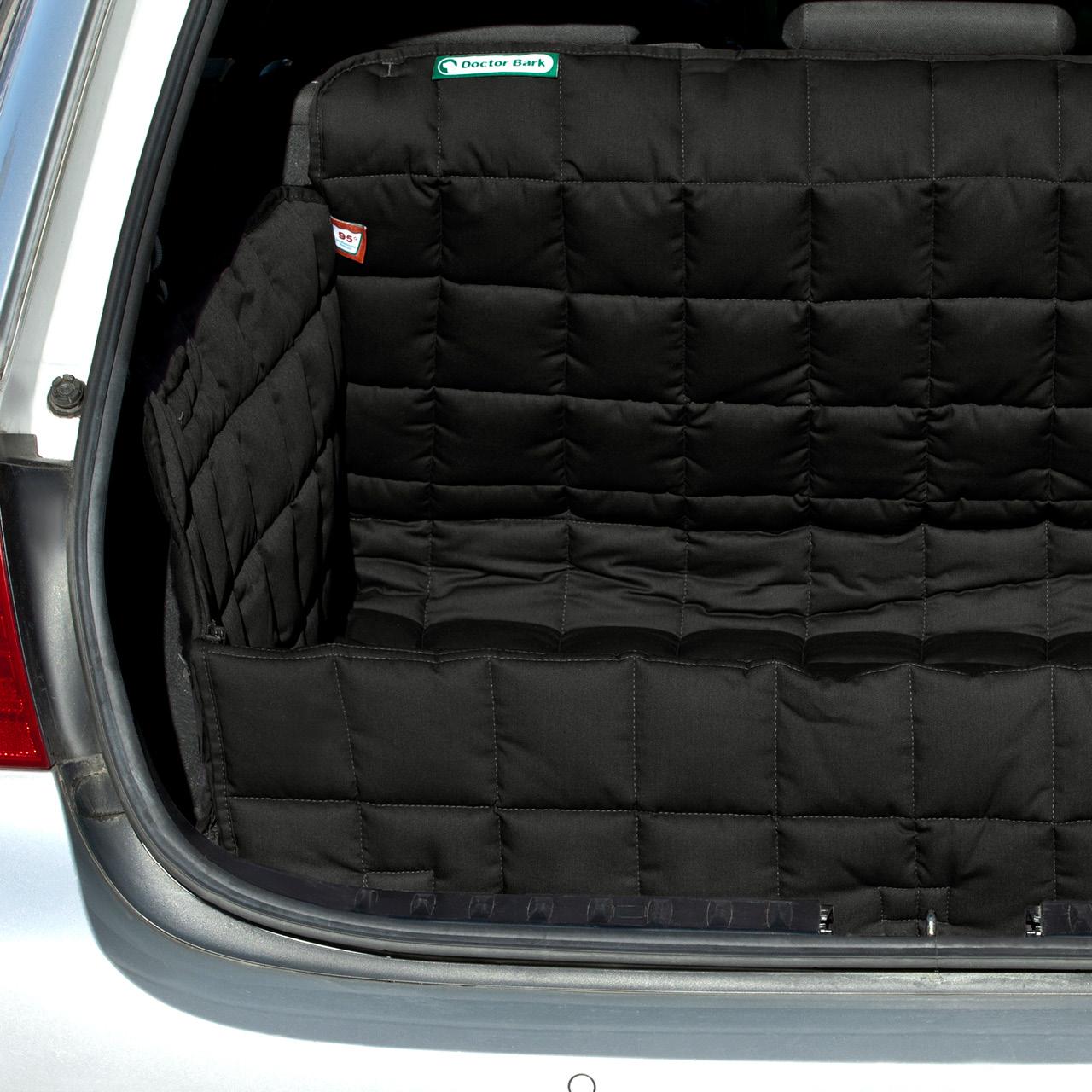 Doctor Bark - Kofferraum Hunde Autoschondecke All-Side Gr. S/M - schwarz