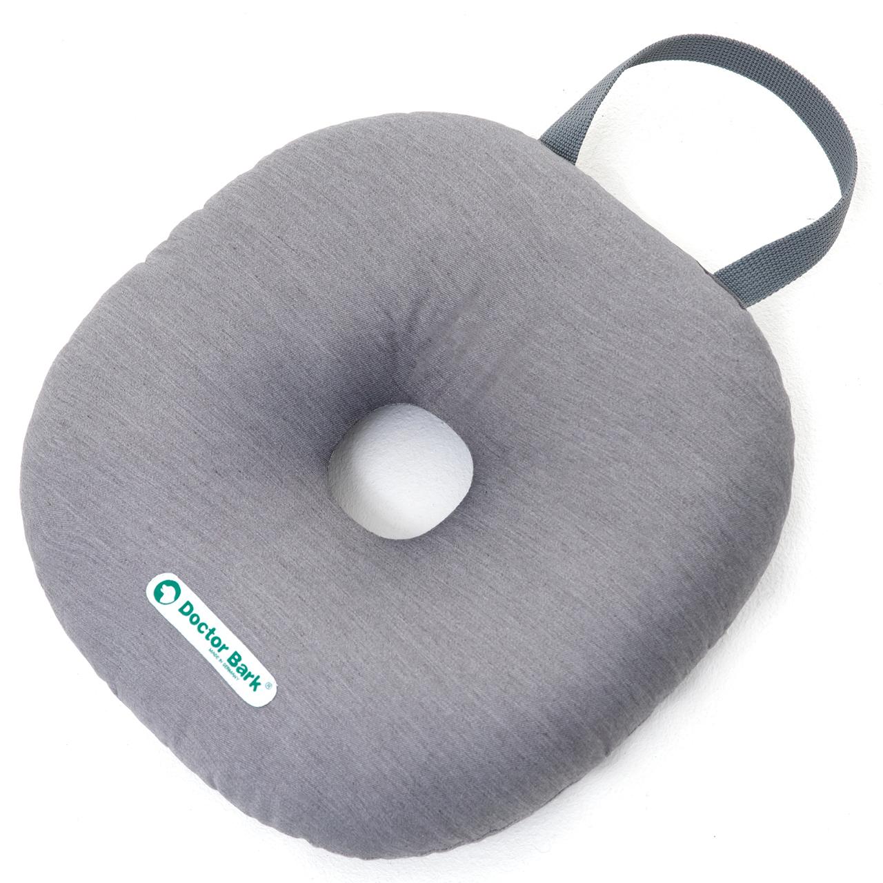 Toy Donut - round M hellgrau