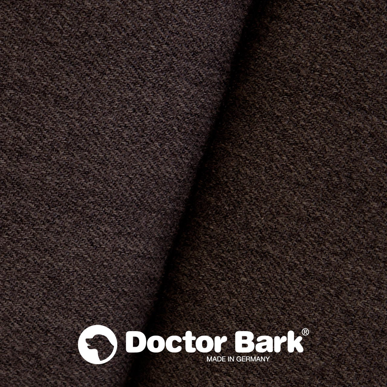 gepolsterte Einlegedecke für Doctor Bark Hundebett Gr. M - braun