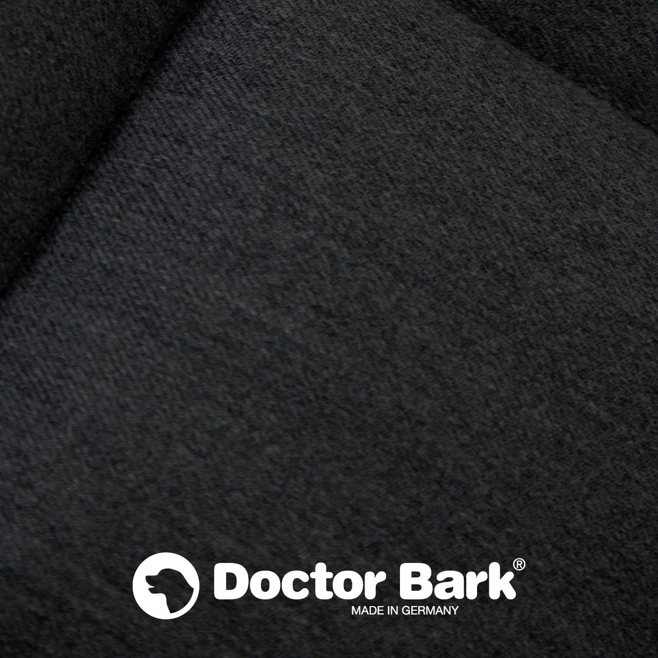 gepolsterte Einlegedecke für Doctor Bark Hundebett Gr. XL - schwarz
