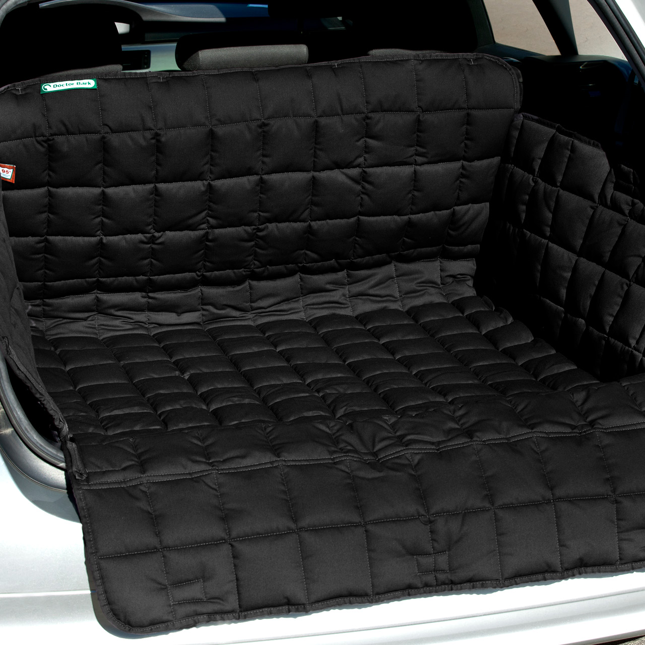 Doctor Bark - Kofferraum Hunde Autoschondecke All-Side - schwarz
