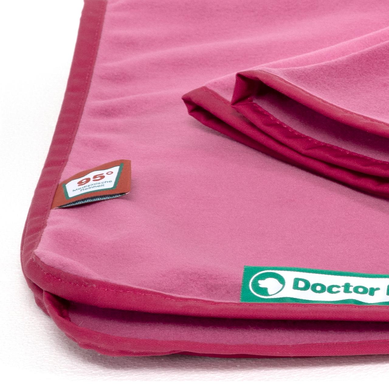 Fleece Kuscheldecke  hot pink M
