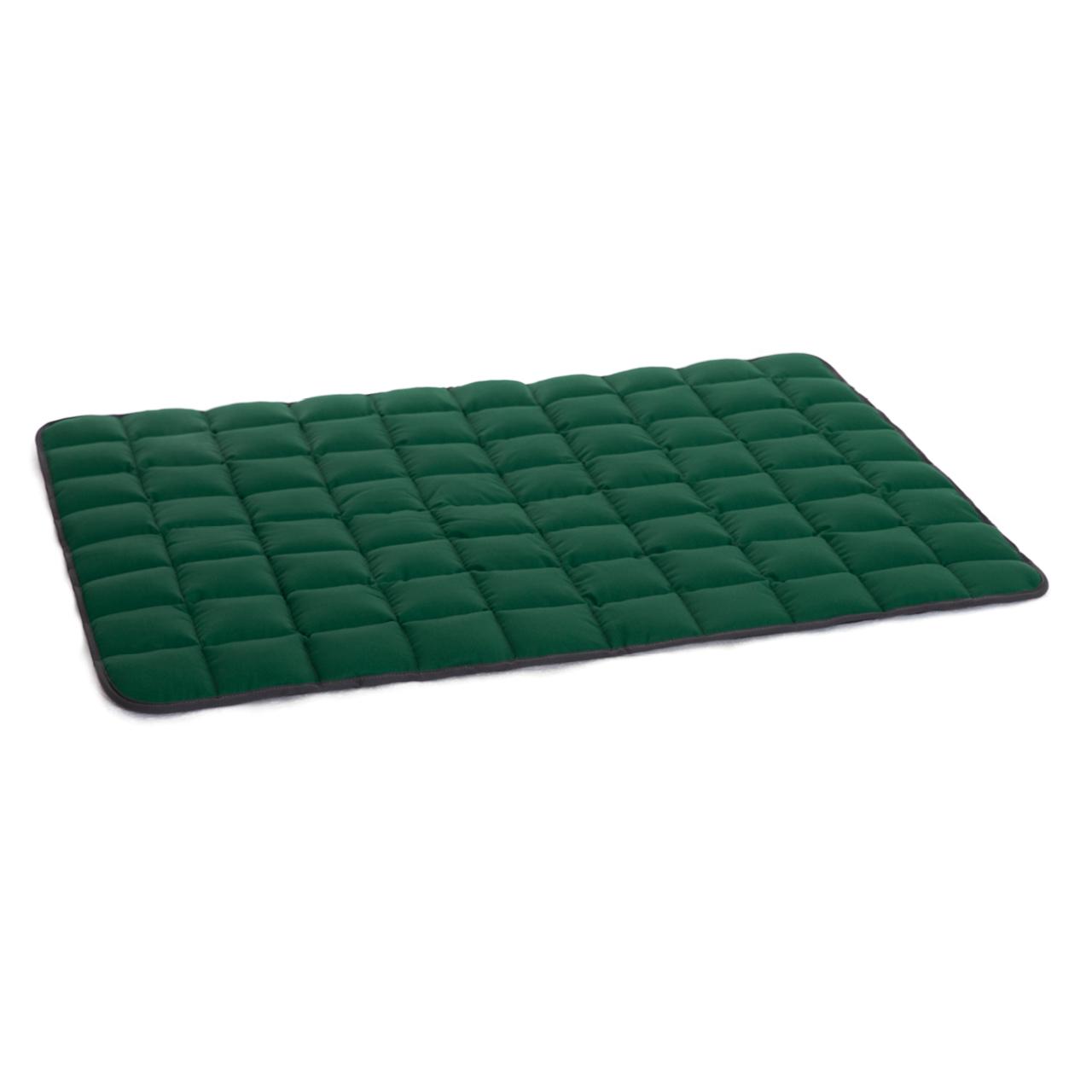 Wende-Steppdecke grau - grün L